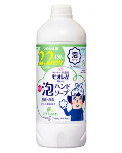 花王 ビオレu 泡ハンドソープ シトラスの香り つめかえ用 (450mL) 詰め替え用 2.2回分 【医薬部外品】