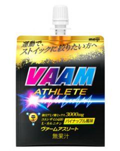 明治 VAAM ヴァームアスリートゼリー パイナップル風味 (180g) ゼリー飲料