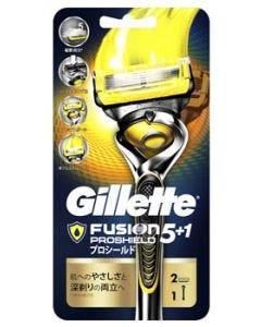 【特売セール】 P&G ジレット プロシールド ホルダー (替刃2個付) カミソリ 髭剃り 【P&G】