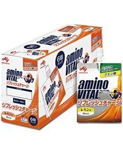 味の素 アミノバイタル ゼリードリンク リフレッシュチャージ (180g×6個) ゼリー飲料 ※軽減税率対象商品