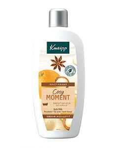 ドイツ製 バスミルク クナイプ コージーモーメント スイートオレンジ&スターアニスの香り (480mL) KNEIPP 入浴剤