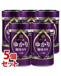 《セット販売》 やま磯 ゆかり味のりカップR (8切32枚)×5個セット 味付のり ※軽減税率対象商品