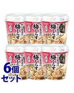 《セット販売》 丸美屋 スープdeごはん 梅しらす茶漬け (68.2g)×6個セット スープごはん インスタント ※軽減税率対象商品