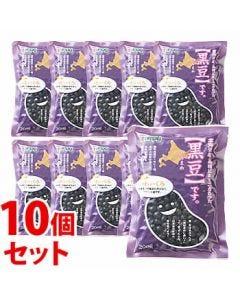 《セット販売》 加藤産業 カンピー 北海道産黒豆 (200g)×10個セット 乾物 黒豆 ※軽減税率対象商品