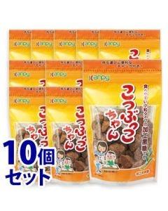 《セット販売》加藤産業カンピーこつぶっこちゃん(100g)×10個セット黒糖黒砂糖Kanpy