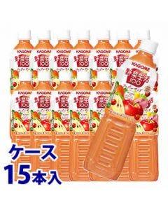 《ケース》カゴメ野菜生活100アップルサラダ(720mL)×15本セット野菜ジュース