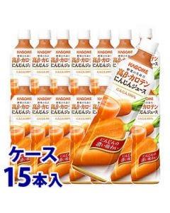 《ケース》カゴメ高β-カロテンにんじんジュース(720mL)×15本野菜ジュース