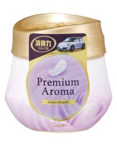 エステー クルマの消臭力 プレミアムアロマ ゲルタイプ グレイスボーテ (90g) Premium Aroma 車用 芳香剤