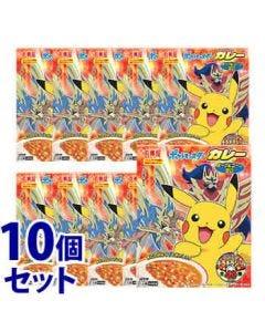 《セット販売》丸美屋ポケモンカレーポーク&コーン甘口1人前(160g)×10個セットレトルトカレー