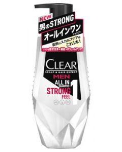 ユニリーバ クリアフォーメン オールインワンシャンプー ポンプ (350g) 男性用 メンズシャンプー CLEAR for men