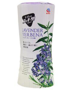 アース製薬 トイレのスッキーリ! ラベンダーヴァーベナの香り (400mL) トイレ用 芳香・消臭剤 置き型