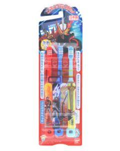 バンダイ こどもハブラシ 仮面ライダーセイバー (3本) 3才以上 子供用 歯ブラシ