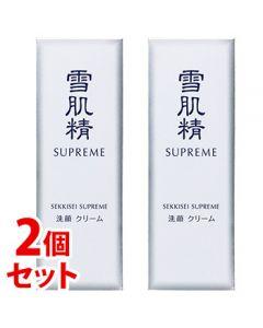 《セット販売》コーセー雪肌精シュープレム洗顔クリーム(140g)×2個セット洗顔料SEKKISEISUPREME