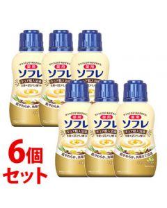 《セット販売》バスクリン薬用ソフレキュア肌入浴液ミルキーハーブの香りボトル(480mL)×6個セット薬用入浴剤【医薬部外品】