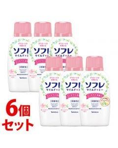 《セット販売》バスクリンソフレマイルド・ミーミルク入浴液和らぐサクラの香り本体(720mL)×6個セット入浴剤