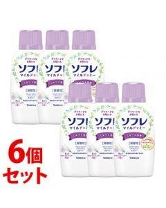 《セット販売》バスクリンソフレマイルド・ミーミルク入浴液夢みるホワイトラベンダーの香り本体(720mL)×6個セット入浴剤