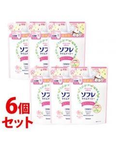 《セット販売》バスクリンソフレマイルド・ミーミルク入浴液和らぐサクラの香りつめかえ用(600mL)×6個セット詰め替え用入浴剤