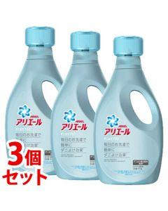《セット販売》P&Gアリエールジェルダニよけプラス本体(910g)×3個セット洗濯洗剤液体【P&G】