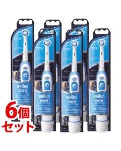 《セット販売》P&GブラウンオーラルBプラックコントロールDB4510N(1個)×6個セット電動歯ブラシ【P&G】