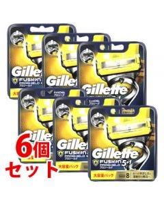 《セット販売》P&Gジレットプロシールド替刃(8個)×6個セットカミソリ髭剃り【P&G】
