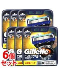 《セット販売》P&Gジレットプログライドフレックスボールマニュアル替刃(8個)×6個セットカミソリ髭剃り【P&G】