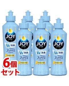 《セット販売》P&GジョイコンパクトW消臭フレッシュシトラス本体(175mL)×6個セット食器用洗剤台所用洗剤【P&G】