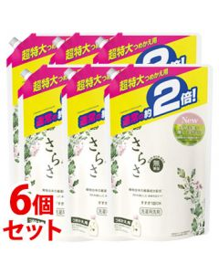 《セット販売》P&Gさらさ洗剤ジェル超特大サイズつめかえ用(1640g)×6個セット詰め替え用液体洗濯洗剤【P&G】