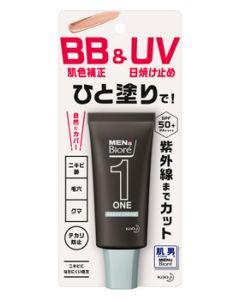 花王メンズビオレONEBB&UVクリーム(30g)メンズ男性用顔用日焼け止めSPF50+PA++++
