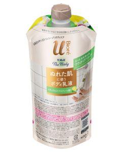 花王ビオレuザボディぬれた肌に使うボディ乳液ナチュラルシトラスティーの香りつりさげパック単体(300mL)ボディ用乳液