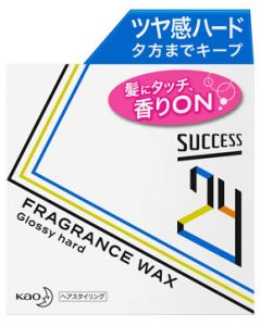 花王 サクセス24 フレグランスワックス グロッシーハード (80g) メンズ ヘアワックス