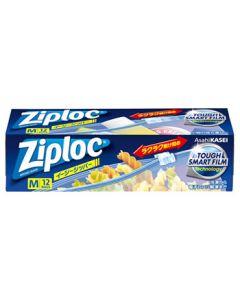 旭化成ジップロックイージージッパーM(12枚)保存袋冷凍解凍Ziploc