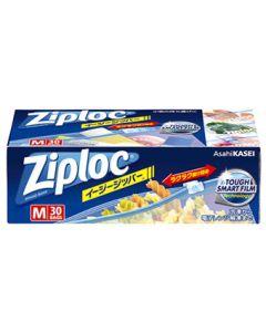 旭化成ジップロックイージージッパーM(30枚)保存袋冷凍解凍Ziploc
