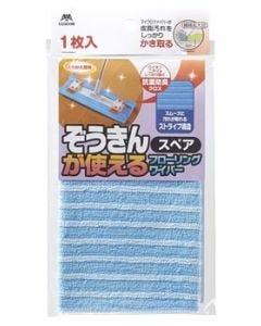 山崎産業 コンドル ぞうきんが使えるフローリングワイパー スペア (1枚) 交換用フローリングシート