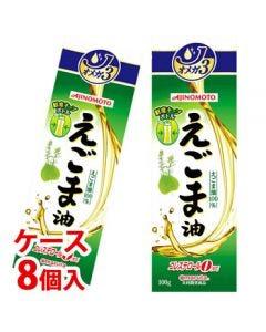 《ケース》味の素J-オイルミルズAJINOMOTOえごま油(100g)×8個