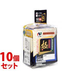 《セット販売》 ニコニコのり 味極 (6袋詰)×10個セット 味のり 味付のり