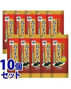 《セット販売》 ニコニコのり 韓国味のり (3切16枚)×10個セット 味海苔 味付のり