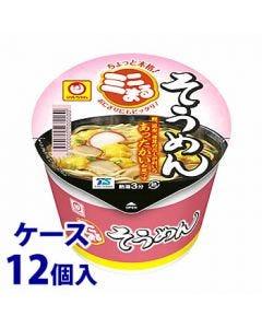 《ケース》東洋水産マルちゃんミニまるそうめん(37g)×12個インスタントカップ麺