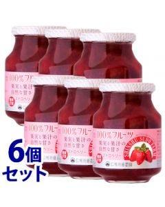 《セット販売》スドージャム信州須藤農園100%フルーツストロベリー(415g)×6個セットいちごジャム