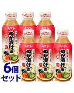 《セット販売》エバラぬか漬けの素(300mL)×6個セット糠漬けの素調味料