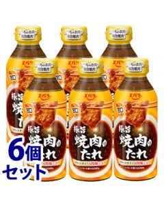 《セット販売》エバラ極旨焼肉のたれ甘口(350g)×6個セット
