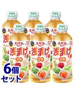 《セット販売》エバラ浅漬けの素さわやか甘酢(500mL)×6個セット調味料