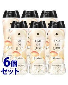 《セット販売》P&Gレノアオードリュクスパルファムシリーズアロマジュエルイノセントビジュの香り(520mL)×6個セット衣料用香りづけ剤ビーズ【P&G】