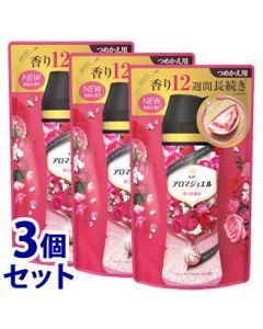 《セット販売》P&Gレノアハピネスアロマジュエルアンティークローズ&フローラルの香りつめかえ用(415mL)×3個セット詰め替え用衣料用香りづけ剤【P&G】