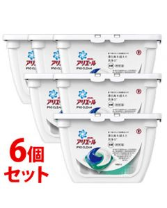 《セット販売》P&Gアリエールプロクリーンジェルボール本体(16個)×6個セット洗濯洗剤【P&G】