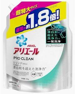 P&Gアリエールプロクリーンジェルつめかえ用超特大サイズ(1340g)詰め替え用洗濯洗剤【P&G】