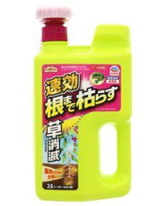 アース製薬 アースガーデン アース草消滅 (2L) 20~40平方メートル用 家庭園芸用 除草剤