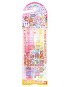 バンダイ こどもハブラシ トロピカルージュ!プリキュア ふつう 3才以上 (3本) 子供用 歯ブラシ