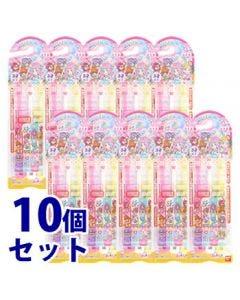 《セット販売》 バンダイ こどもハブラシ トロピカルージュ!プリキュア ふつう 3才以上 (3本)×10個セット 子供用 歯ブラシ