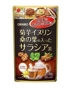 オリヒロ菊芋イヌリン桑の葉の入ったサラシア茶(60g)健康茶混合茶
