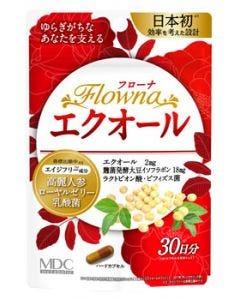 メタボリック フローナ エクオール 30日分 (30カプセル) 美容サプリメント